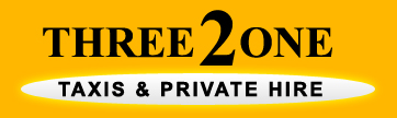 321 Private hire taxi